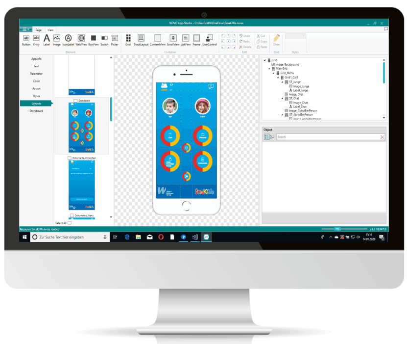 p NOVO App Studio Screen11